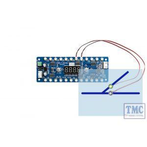 DCD-MPGN DCC Concepts N/HO/OO/O Scale Alpha Mimic Panel Controller (Green LEDs)