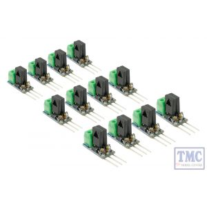 DCD-SDC12 DCC Concepts N/HO/OO/O/G Scale Solenoid Decoder Converter - 3 Wire to 2 Wire DC (12)