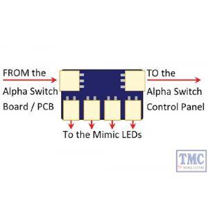 DCD-SMA3 DCC Concepts Alpha to Mimic LED Adaptors (3)