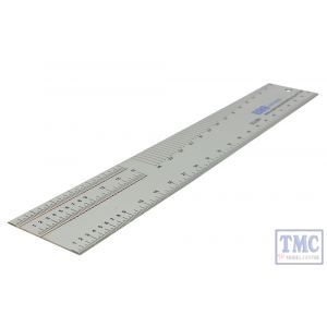DCG-SR4 DCC Concepts OO Scale The Ultimate 4mm Scale Ruler with Handrail Bending Jig