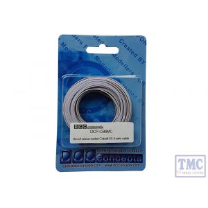 DCP-CB6MC DCC Concepts 6 Metres of Colour Coded Cobalt-SS 4-wire cable