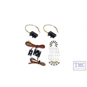 DCP-CBXO DCC Concepts N/HO/OO Scale *Cobalt SS Surface Mount Motor (Crossover 2 Pack)