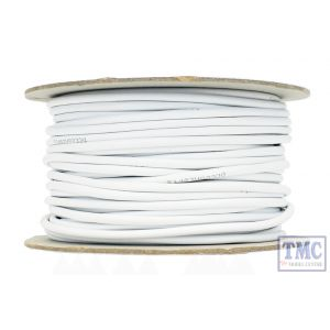 ACCESSORY BUS WIRE 50M 7X 0.2MM 5 CORE IN WHITE SHEATH