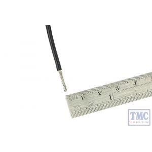 DCW-BK1-1.5 DCC Concepts N/TT/HO/OO/O/G Scale 1m of 1.5mm (15g) Black Power Bus Wire