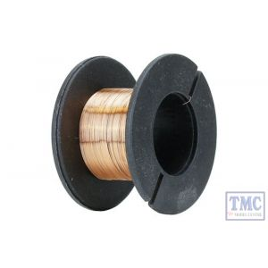 DCW-ECW10 DCC Concepts N/TT/HO/OO/O/G Scale Enamelled Copper Wire 0.1mm Diameter (30m)