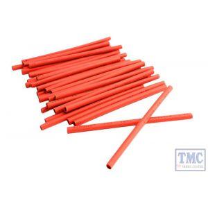 DCW-HS-RED DCC Concepts N/TT/HO/OO/O/G Scale Heatshrink Set - Red