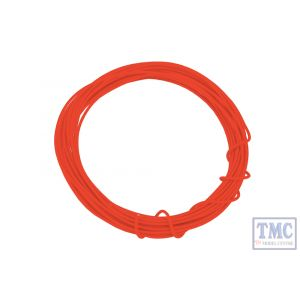 DCW-KRD DCC Concepts N/TT/HO/OO/O/G Scale Kynar Wire - 2m Red