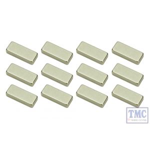 DCX-PBMN DCC Concepts N Scale POWERBASE N Magnet Pack (12)