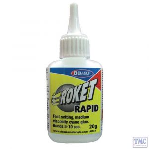 DLAD-44 Deluxe Materials (DL15B) Roket Cyanoac Rapid 20gm