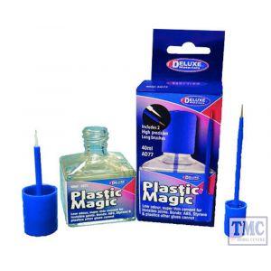 DLAD-77 Deluxe Materials N/HO/OO Scale Plastic Magic (40ml)
