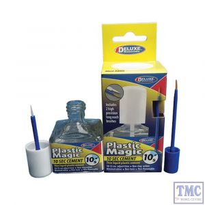 AD-83 Deluxe Materials Plastic Magic 10 Second Cement (40ml)
