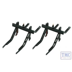 DML-MBS OO Gauge DCC Concepts Buffer Stop with Lamps (pack of 2)