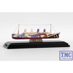 E10005 Exclusive First Edition (EFE) 1:1750 Scale R.M.S. Olympic WWI Dazzle Livery