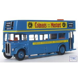 10202 Exclusive First Edition (EFE) AEC Regent Open-Top - Great Yarmouth 'Colman's' (Pre-Owned)