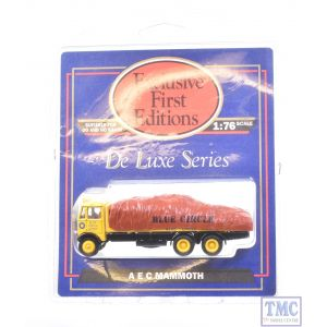 10702 Exclusive First Editions (EFE) 1:76/4mm Scale AEC Mammoth Lorry with Load - Blue Circle Group
