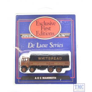10802 Exclusive First Editions (EFE) 1:76/4mm Scale AEC Mammoth Covered Lorry - Whitbread Brewery