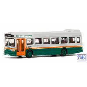 E14409 OO Gauge Leyland National Mk.1 Short 2 Door Grey Green Exclusive First Edition (EFE)