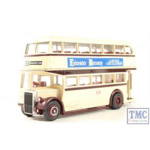 EFE 15911 Leyland Titan PD1 open rear platform d/deck bus Barton Transport