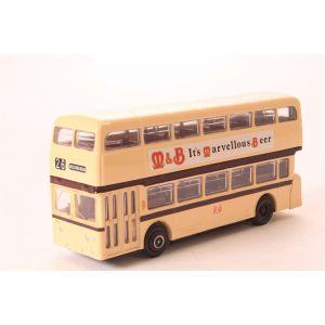 EFE 16509 Leyland Atlantean d/deck bus Leicester