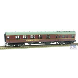 Bachmann OO Gauge BR Maroon Mk1 BCK E21096 A4 Locomotive Society Ltd Sir Nigel Gresley Support Coach Renumbered by TMC