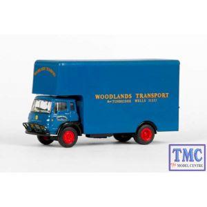 E23605 OO Gauge Bedford TK Luton Box Van Woodlands Transport Exclusive First Edition (EFE)
