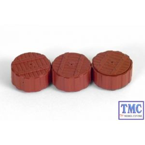 E99600 OO Gauge Cable Drums Exclusive First Edition (EFE)