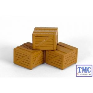 E99602 OO Gauge Small Wooden Crate Exclusive First Edition (EFE)