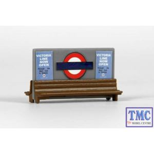 E99622 OO Gauge Station Seats Exclusive First Edition (EFE)