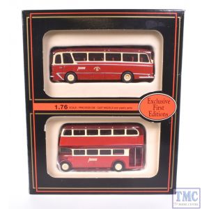 99905 Exclusive First Editions (EFE) 1:76/4mm Scale Barton Transport Ltd Gift Pack (2 Vehicles)