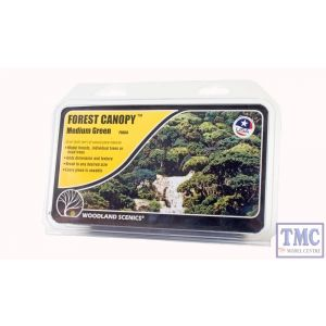 F1664 Woodland Scenics Medium Green Forest Canopy