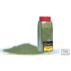 FL635 Woodland Scenics Medium Green Static Grass Flock