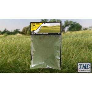 FS614 Woodland Scenics 2mm Static Grass Medium Green
