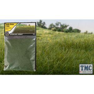 FS617 Woodland Scenics 4mm Static Grass Dark Green