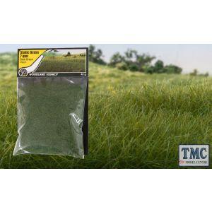 FS621 Woodland Scenics 7mm Static Grass Dark Green