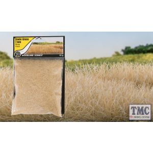 FS624 Woodland Scenics 7mm Static Grass Straw