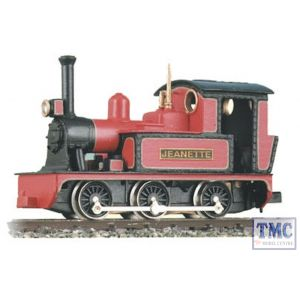 GL-1 Peco OO9 Gauge 0-6-0 or 0-4-0 Side Tank 'Jeanette' Whitemetal Body Kit