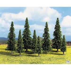 GM125 Gaugemaster N & OO Gauge Bulk Pack Trees - Spruce (25)