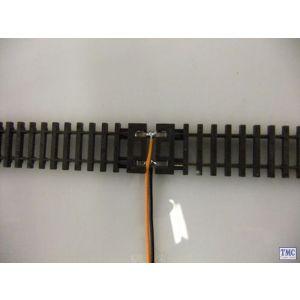 GM17 Gaugemaster N Gauge Pair Connecting Leads (N Rail Joiner/Wire)