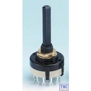GM521 Gaugemaster Rotary Switch - 3 Pole 4 Way (Break before Make contacts)