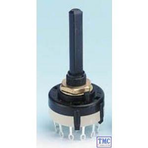 GM522 Gaugemaster Rotary Switch - 4 Pole 3 Way