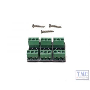 GMC-PM50 Gaugemaster N/HO/OO/O Scale Connection Boxes (3)