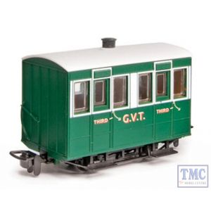 GR-500 Peco OO9 Gauge Glyn Valley Tramway 4 Wheel Enclosed Side Coach