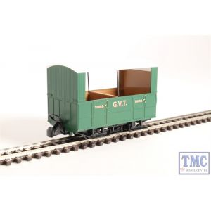 GR-520 Peco OO9 Gauge Glyn Valley Tramway 4 Wheel Open Side Coach