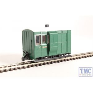 GR-530 Peco OO9 Gauge Glyn Valley Freelance 4 Wheel Brake Coach Without Buffers