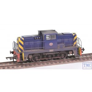 GV2015 Golden Valley Hobbies OO Gauge Janus 0-6-0 Diesel Port Of London no.201 Weathered by TMC