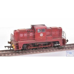 GV2020 Golden Valley Hobbies OO Gauge YEC Janus 0-6-0DE Shunter Richard Borrett ICI Maroon Weathered by TMC
