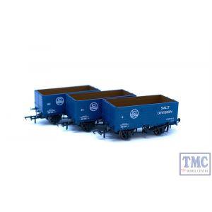 "GV6020 Golden Valley Hobbies OO/HO Gauge Pack of three 7-plank open wagons ""ICI"""