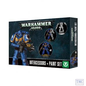 60-11 Games Workshop Warhammer 40000 Intercessors + Paint Set