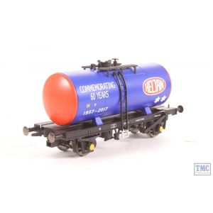 1100 Heljan OO/HO Gauge 4 Wheel B Tank Wagon - Heljan 60th Anniversary Commemorative Model