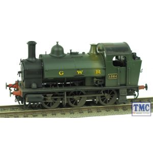 1302 Heljan OO Gauge Class 1361 0-6-0ST 1364 GWR Green Real Coal & Weathered by TMC
